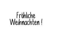 """Schriftzug """"Fröhliche Weihnachten!"""""""