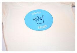"""Shirt """"KLEINER/GROSSER BRUDER"""" & Krone"""