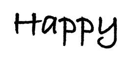 """VAN LIFE Schriftzug """"Happy"""""""