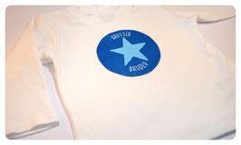 """Kurzarm-Shirt """"KLEINER/GROSSER BRUDER"""" & Stern"""