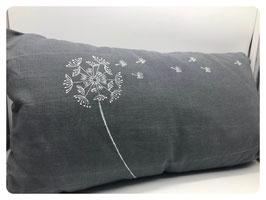 Leinenkissen mit Pusteblume 50x30 cm