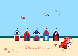 """Postkarte """"Meer geht immer!"""""""