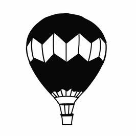 Heißluftballon medium