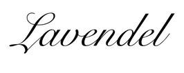 """Schriftzug """"Lavendel"""" klassisch"""