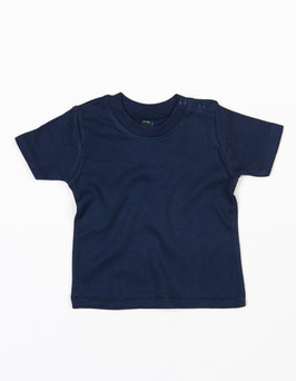 Kurzarm-Shirt dunkelblau