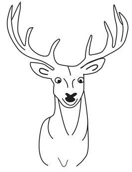 Hirschkopf (frontal)