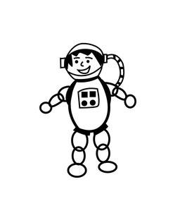 Astronaut SAM