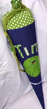 Schultüte mit T-Rex