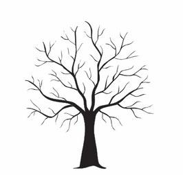 Baum mit Ästen maxi
