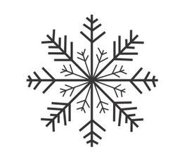 Schneeflocken-Stern 1 maxi