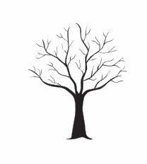 Baum mit Ästen medium