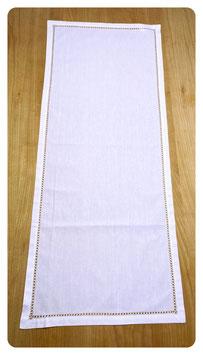 Tischläufer 40x100 cm mit Hohlsaum