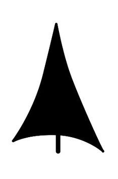 Tannenbaum abstrakt Fläche maxi