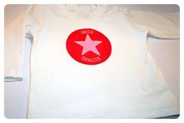 Kurzarm-Shirt KLEINE/GROSSE SCHWESTER & Stern