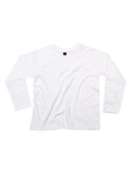Langarm-Shirt weiß