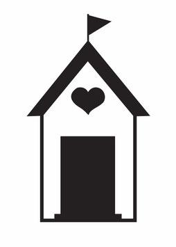 Haus mit Herz