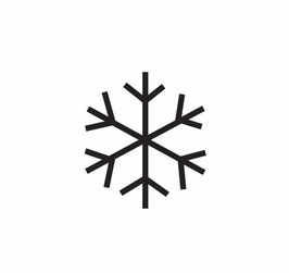 Schneeflocke medium