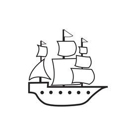 Segelschiff medium