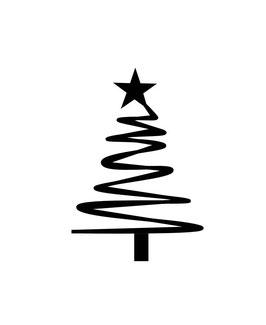 Tannenbaum mit Stern