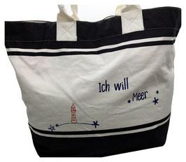 Deck Bag ICH WILL MEER!
