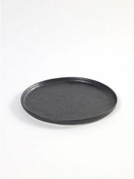 NEU - schwarzer Teller PURE