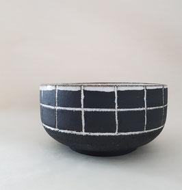 leider ausverkauft - Keramik-Schale SQUARED STONE