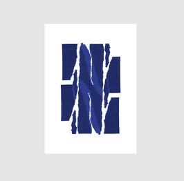 NEU - Abstrakter Print TORN