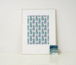 """A4 Print """"Ananas"""""""