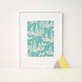 "SALE - A4 Print ""Jungle"""