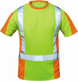 Utrecht Warnschutz T-Shirt gelb/orange