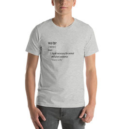 Definition Water Unisex Shirts