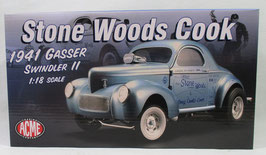 1941 Willys Stone Woods & Cook Swindler II Gasser 1/18