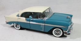 1956 Chevy 4 Door Hardtop Turquoise / Ivory