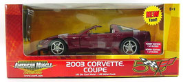 2003 Corvette Coupe Anniversary Red
