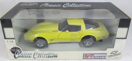 1978 Corvette Yellow  UT Autoart