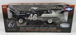 1957 Chevy 150 Utility Sedan Speedy Thompson Black Widow Racer 1/18