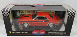 1971 Dodge Challenger R/T Orange 1/18
