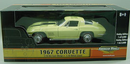 1967 Corvette Yellow Coupe