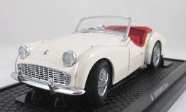 Triumph TR3A White Kyosho