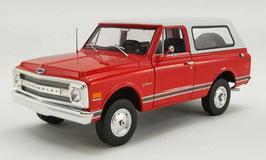 1969 Chevy Blazer K/5 Red / White  1/18 Acme