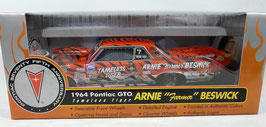 "1964 Pontiac Arnie ""The Farmer"" Beswick Tameless Tiger Funny Car '64 GTO"