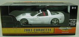 2003 Corvette White
