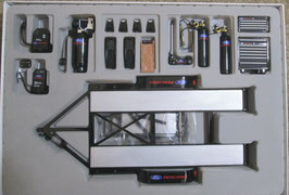 1/18 scale Car Hauling Trailer & Tool Set Ford  GMP