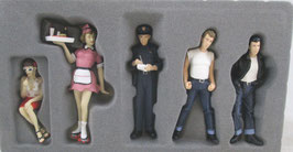 1/18 scale Greasers Set GMP