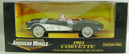 1961 Corvette Black, Toys R Us Exclusive