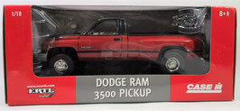 Dodge Ram 3500  Red/Black 1/18 Case-IH Ertl