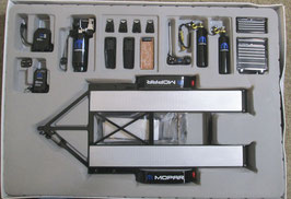 1/18 scale Car Hauling Trailer & Tool Set Mopar GMP
