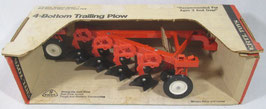 Allis Chalmers Plow 4 Bottom Ertl Vintage