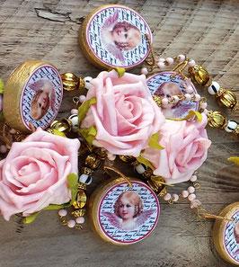 *Rosy Victorian Angel* Advents- und Weihnachtsgirlande