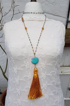 Mala Style Necklace *HEAVEN & EARTH*
